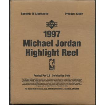 1997 Upper Deck Michael Jordan Highlight Reel Basketball Retail Box