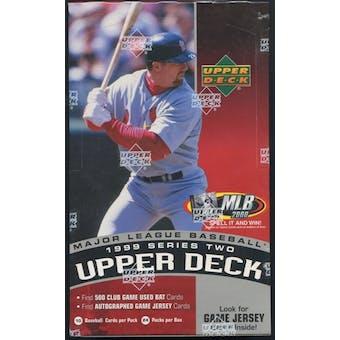 1999 Upper Deck Series 2 Baseball Retail Box
