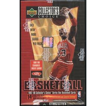 1997/98 Upper Deck Collector's Choice Series 1 Basketball Retail Box