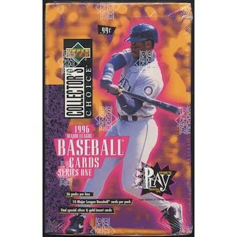 1996 Upper Deck Collector's Choice Series 1 Baseball Prepriced Box