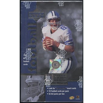 1997 Upper Deck Football Retail Box