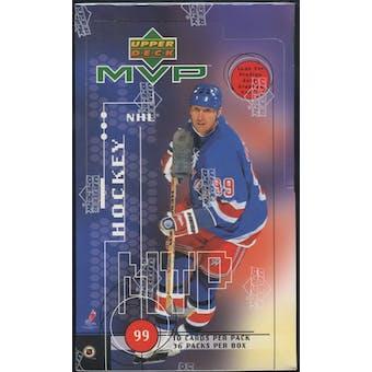 1998/99 Upper Deck MVP Hockey Retail Box