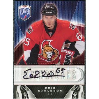 2009/10 Upper Deck Be A Player Signatures #SEK Erik Karlsson Autograph