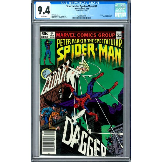 Spectacular Spider-Man #64 CGC 9.4 (W) Mark Jewelers Insert *1232066011*