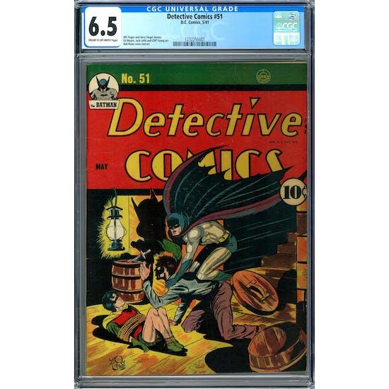 Detective Comics #51 CGC 6.5 (C-OW) *1232255001*