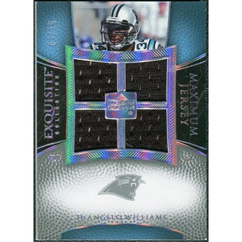 2007 Upper Deck Exquisite Collection Maximum Jersey Silver Spectrum #DW DeAngelo Williams /15
