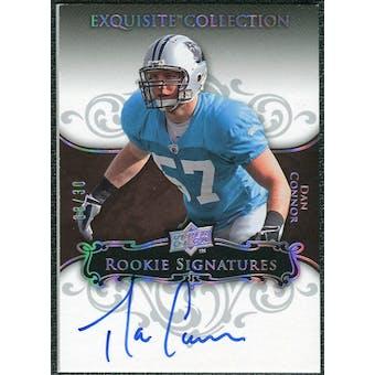 2008 Exquisite Collection Silver Holofoil #111 Dan Connor Autograph /30