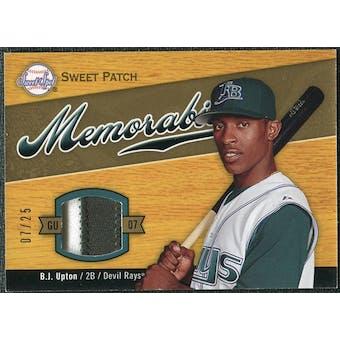 2007 Upper Deck Sweet Spot Sweet Swatch Memorabilia Patch #BU B.J. Upton 7/25