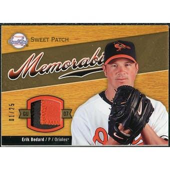 2007 Upper Deck Sweet Spot Sweet Swatch Memorabilia Patch #EB Erik Bedard /25