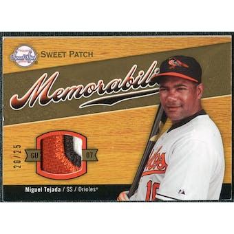 2007 Upper Deck Sweet Spot Sweet Swatch Memorabilia Patch #TE Miguel Tejada /25