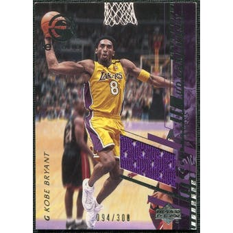 2000/01 Upper Deck e-Card 1 #EC1J Kobe Bryant Jersey /300