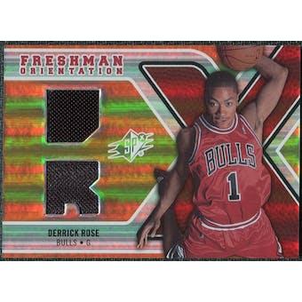 2008/09 Upper Deck SPx Freshman Orientation #FODR Derrick Rose