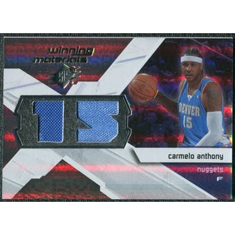 2008/09 Upper Deck SPx Winning Materials #WMJCA Carmelo Anthony