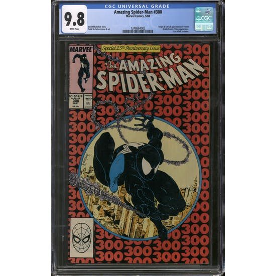 Amazing Spider-Man #300 CGC 9.8 (W) *1248664002*