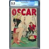 Oscar Comics #25 (#2) CGC 5.5 (OW-W) *1248941015*