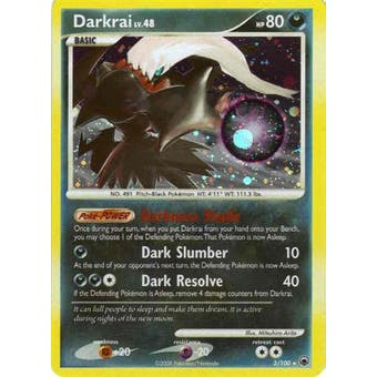 Pokemon Majestic Dawn Single Darkrai 3/100