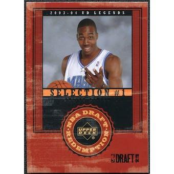 2003/04 Upper Deck Legends #136 Dwight Howard XRC