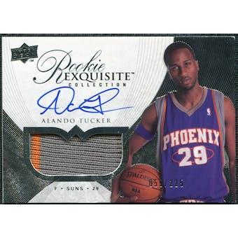2007/08 Upper Deck Exquisite Collection #93 Alando Tucker Rookie Patch Autograph /225