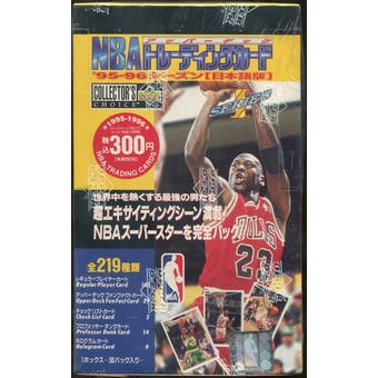 1995/96 Collector's Choice Series 1 Basketball 36 Pack Box (Japanese)