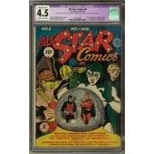 All Star Comics #8 CGC 4.5 (OW-W) Restored *1252114001*