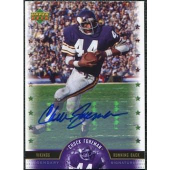 2005 Upper Deck Legends Legendary Signatures #CF Chuck Foreman