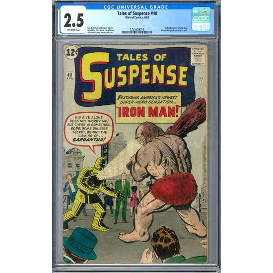 Tales of Suspense #40 CGC 2.5 (OW) *1255559018*