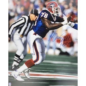 Bruce Smith Autographed Buffalo Bills 16x20 Action Photo