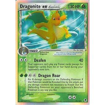 Pokemon Dragon Frontiers Single Dragonite ex 91/101