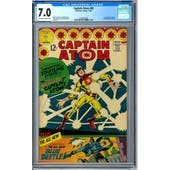 Captain Atom #83 CGC 7.0 (OW-W) *1260534004*