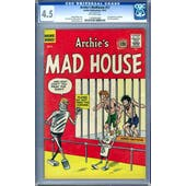 Archie's Madhouse #22 CGC 4.5 (OW) *1260895008*