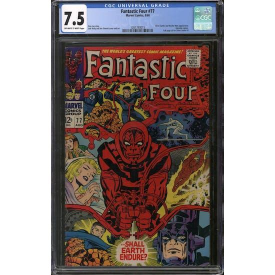 Fantastic Four #77 CGC 7.5 (OW-W) *1261793015*