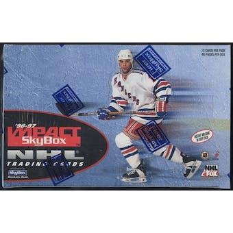 1996/97 Skybox Impact Hockey Retail Box
