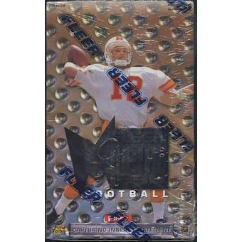 1996 Fleer Metal Football Retail Box