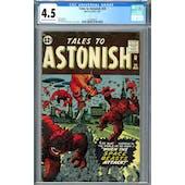 Tales to Astonish #29 CGC 4.5 (C-OW) *1261864012*