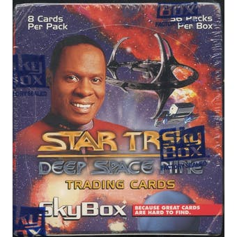 Star Trek: Deep Space 9 Retail Box (1993 Skybox)