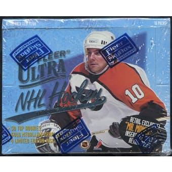 1996/97 Fleer Ultra Hockey Retail Box