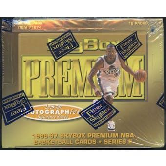 1996/97 Skybox Premium Series 2 Basketball Retail Box