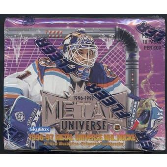 1996/97 Fleer Metal Universe Hockey Retail Box