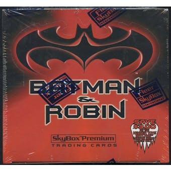 Batman and Robin Retail Box (1997 Skybox Premium)