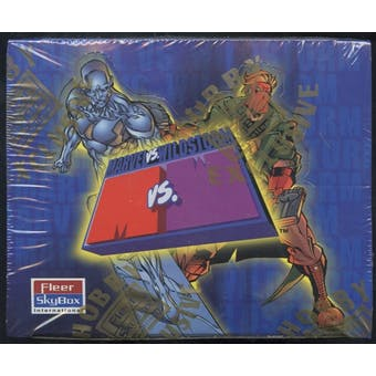 Marvel Vs. Wildstorm Hobby Box (1997 Skybox)