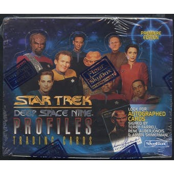 Star Trek Deep Space Nine Profiles Retail Box (1997 Fleer)