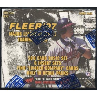 1997 Fleer Series 1 Baseball Retail Box