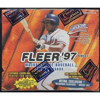 1997 Fleer Series 2 Baseball Retail Box