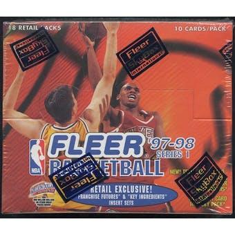 1997/98 Fleer Series 1 Basketball Retail Box
