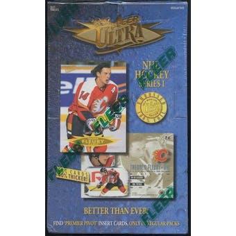 1995/96 Fleer Ultra Series 1 Hockey Hobby Box