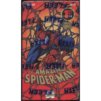 The Amazing Spiderman 1st Edition Retail Loader Box (1994 Fleer)