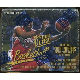 1996/97 Fleer Ultra Series 1 Basketball Retail Box
