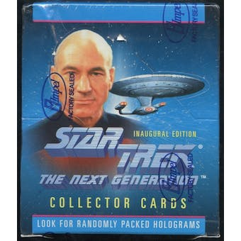 Star Trek: The Next Generation Inaugural Edition Hobby Box (1992 Impel)