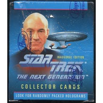 Star Trek: The Next Generation Inaugural Edition Hobby Box (1992 Impel) (Reed Buy))