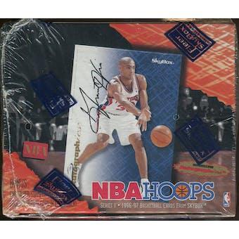 1996/97 Hoops Series 1 Basketball Retail Box